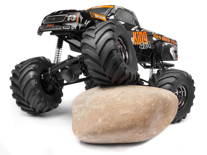 Монстр-трак HPI WHEELY KING 106173 4X4 RTR 1:10 43 см