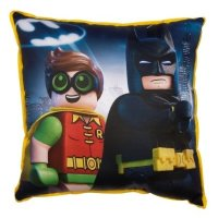 Подушка BAT MOVIE HERO SQUARE 40x40 см, Lego